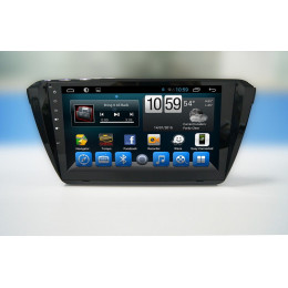 Штатная магнитола Carmedia QR-1037 (4 Ядра, Android 4.4+, GPS-Глонасс, 1024х600)