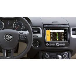 Штатная магнитола Carmedia DZ-214 Volkswagen Touareg (2015+)
