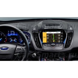 Штатная магнитола Carmedia DZ-310 Ford Kuga, Mondeo, LinColn/EDGE Focus, Taurus, Explorer, Raptor (2017+)