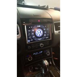 Штатная магнитола Carmedia DZ-217 Volkswagen Touareg (2011+)