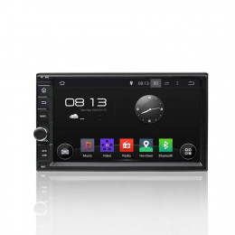 Штатная магнитола Carmedia KD-7000-P3-7 2 DIN Universal, Nissan universal
