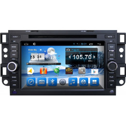 Штатная магнитола Carmedia QR-6205 (4 Ядра, Android 4.4+, GPS-Глонасс, 1024х600)