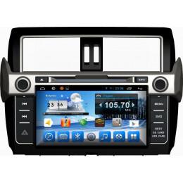 Штатная магнитола Carmedia QR-9000-T3 Toyota Land Cruiser Prado 150 (2014+)