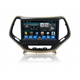 Штатная магнитола Carmedia KR-1057-T8 Jeep Cherokee (2014+)