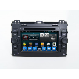 Штатная магнитола Carmedia KR-7095-T8 Toyota Land Cruiser Prado 120 (2002-2009)