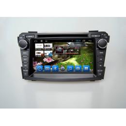 Штатная магнитола Carmedia KR-7124-T8 Hyundai I40 (2011+)