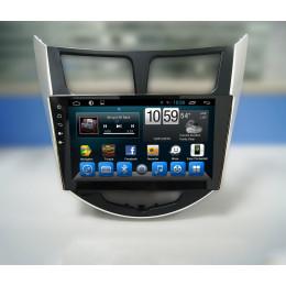 Штатная магнитола Carmedia KR-9020-T8 Hyundai Solaris (2011-2016)