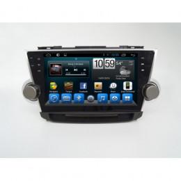Штатная магнитола Carmedia KR-1027-T8 Toyota Highlander (2007-2013)