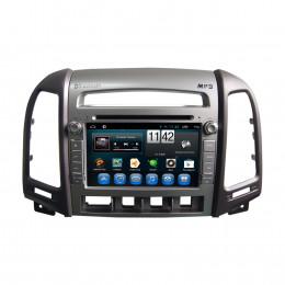 Штатная магнитола Carmedia KR-7031-4-T8 Hyundai Santa Fe (2010-2012)