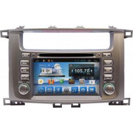 Штатная магнитола Carmedia KR-7083-T8 Toyota Land Cruiser 100 (2002-2007)