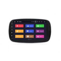Штатная магнитола Carmedia MKD-M901-P6 Mercedes Smart (2015-2017)