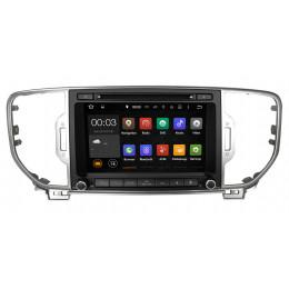 Штатная магнитола Carmedia NS-8012 Kia Sportage (2016+) поддержка любых комплектаций