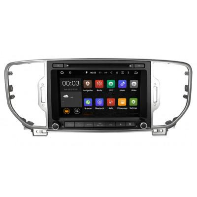 Штатная магнитола Carmedia NS-8012 Kia Sportage (2016+) поддержка любых комплектаций  (Наличие СПБ, МСК)