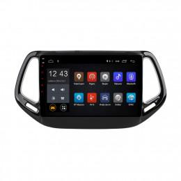 Штатная магнитола Carmedia NM-108-MTK Jeep Compass (2016+)