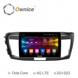 Штатная магнитола Carmedia OL-1642-MTK Honda Accord (2013+)