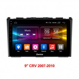 Штатная магнитола Carmedia OL-9640-P5 Honda CRV III (2006-2012) RE