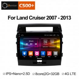 Штатная магнитола Carmedia OL-1620  Toyota Land Cruiser 200 (2007-2015) Elegance