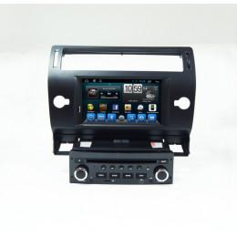 Штатная магнитола Carmedia QR-7066-B Citroen C4 old
