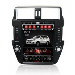 Штатная магнитола Carmedia SP-12104-T8 Toyota Land Cruiser Prado 150 (2013-2016)