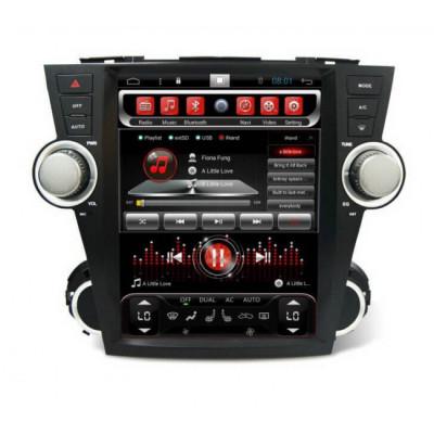 Штатная магнитола Carmedia SP-12107-T8 Toyota Highlander (2007-2013) U40 (Наличие СПБ, МСК)