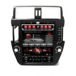 Штатная магнитола Carmedia SP-12108-T8 Toyota Land Cruiser Prado 150 (2009-2013)