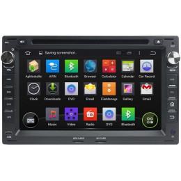 Штатная магнитола Carmedia KD-7009 черный Volkswagen, Skoda, Peugeot, Ford, Seat