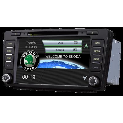 Штатная магнитола Carmedia T10-820 Skoda Octavia A5 (2004-2013), Yeti (2009+) (Наличие СПБ, МСК)