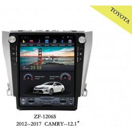 Штатная магнитола Carmedia ZF-1206 Toyota Camry (2011+) (V50, V55)