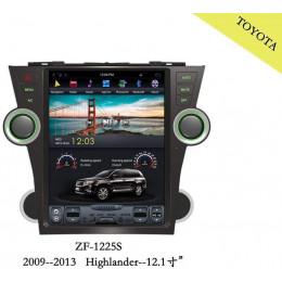 Штатная магнитола Carmedia ZF-1225-DSP Toyota Highlander (2007-2013) U40