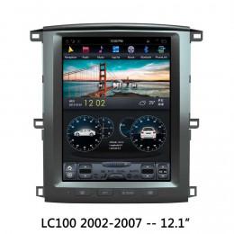 Штатная магнитола Carmedia ZF-1301-DSP Toyota Land Cruiser 100 (2002-2008)