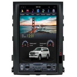 Штатная магнитола Carmedia ZF-1816L Toyota Land Cruiser 200 (2007-2015) без штатного экрана