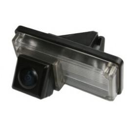 Штатная камера заднего вида Dinaudio TY-01 для Lexus (Лексус) GX470, LX470;Toyota (Тойота) Land Cruiser 4000-V6, Land Cruiser 200, Reiz , Prado 120 (Запасное колесо снизу)