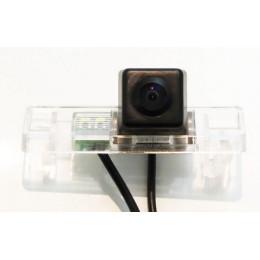 Штатная камера заднего вида Dinaudio NS-02 для Nissan Qashqai X-Trail (T31), Pathfinder, Note, Juke, Patrol 11+, Peugeot 308, 307, 307CC, 408, Citroen C4, C5