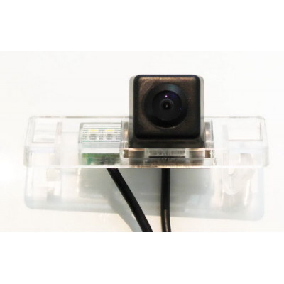 Штатная камера заднего вида Dinaudio NS-02 для Nissan Qashqai X-Trail (T31), Pathfinder, Note, Juke, Patrol 11+, Peugeot 308, 307, 307CC, 408, Citroen C4, C5 (Наличие СПБ, МСК)