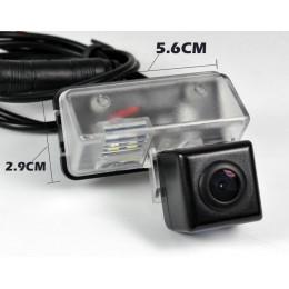 Штатная камера заднего вида Dinaudio TY-05 для Toyota corolla 2013+, Vios; Citroen Berlingo, DS4; Peugeot 206, 207, 407, 307