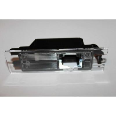 Штатная камера заднего вида Dinaudio OP-01 для Opel Astra J, Corsa, Insignia, Meriva B, Vectra C, Zafira B ; Renault Scenic