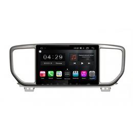 Штатная магнитола WINCA S300-SIM 4G FARCAR RG1143R Kia Sportage 4 (2018+)