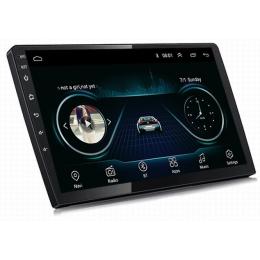 Штатная магнитола Carmedia KD-9510-P6 Hyundai Santa Fe (2010-2012) (рамка 3 и 4 кнопки)